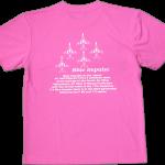 ブルーインパルス 大人Tシャツ ピンク(066) 文字色白