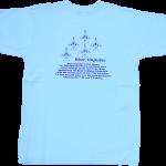 ブルーインパルス 子供Tシャツ ライトブルー(133)