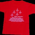 ブルーインパルス 大人Tシャツ レッド(069)