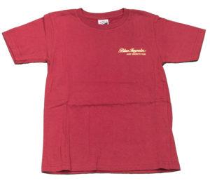 ブルーインパルス 子供Tシャツ バーガンディ